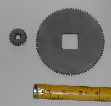 output gears