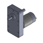 """A"" style permanent magnet gear motor"