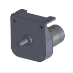 "permanent magnet ""CD"" style DC-powered gearmotor"