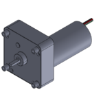 """CL"" style gearbox with brushless DC motor"