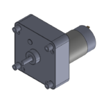 "permanent magnet ""CL"" style DC-powered gearmotor"