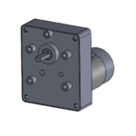 "CM style permanent magnet gear motor - ""C"" mounting"