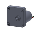 """H2"" gearbox with brushless DC motor"