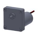 """H"" style gear box with brushless DC gearmotor"