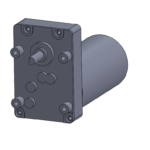 """""""Mini-A"""" style gear box with brushless DC gearmotor"""