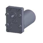 """""""Mini-C"""" style gear box with brushless DC gearmotor"""