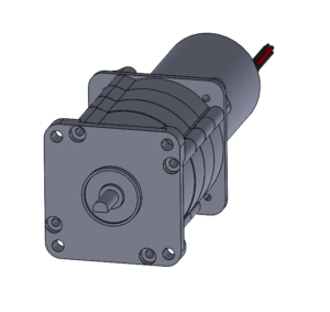 Planetary gearbox with brushless DC gearmotor