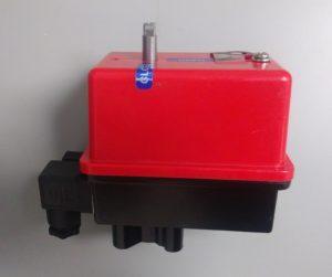 valve actuator with custom colors