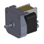 CD style AC-powered gear motor