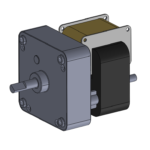 CL style AC-powered gear motor