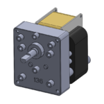 CMA style AC-powered unidirectional gear motor