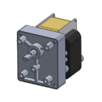 CMB style AC-powered unidirectional gearmotor