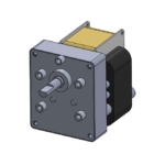 CMC style AC-powered gear motor