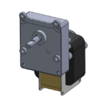 CMN-D AC-powered gear motor
