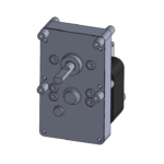 ESP style unidirectional gear motor