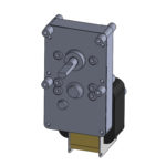 ESP-D style unidirectional gear motor