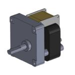 H2 style unidirectional gearmotor