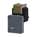 HSP-D style unidirectional gearmotor