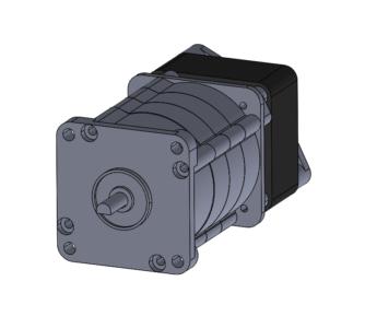 reversible planetary PSC motor