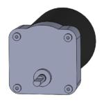B style reversible AC-powered gearmotor