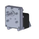 CMPC reversible AC-powered gearmotor