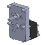EPSC reversible AC-powered gearmotor