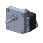 HPSC reversible AC-powered gearmotor