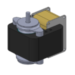 unidirectional AC motor - no gearbox